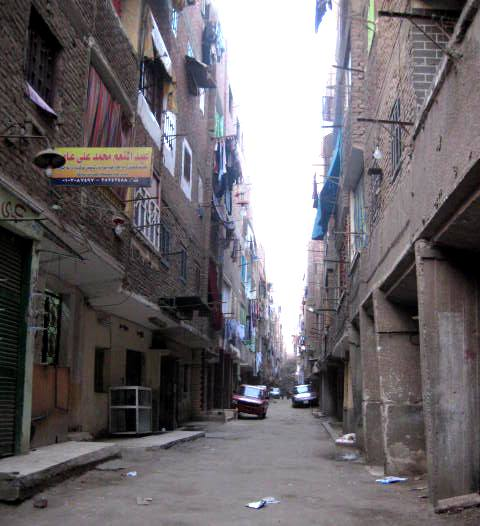 Informal street of Cairo